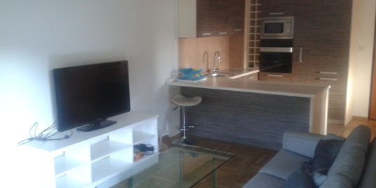 Apartment 80m2, two bedrooms, garage, fully furnished