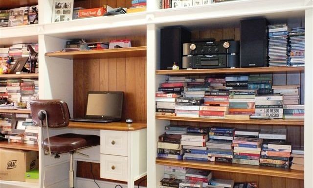 Desk & Library