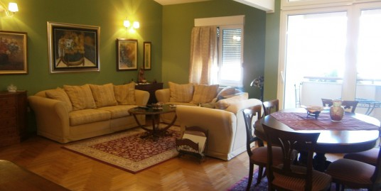 Apartment for rent 100m2, three bedrooms, fully furnished