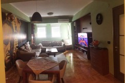 Flat 75m2, sixth floor, two bedrooms, partly furnished, City kvart