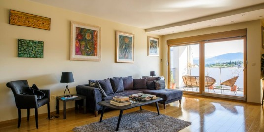 Flat for rent 140m2 – fully furnished – new building – perfect view