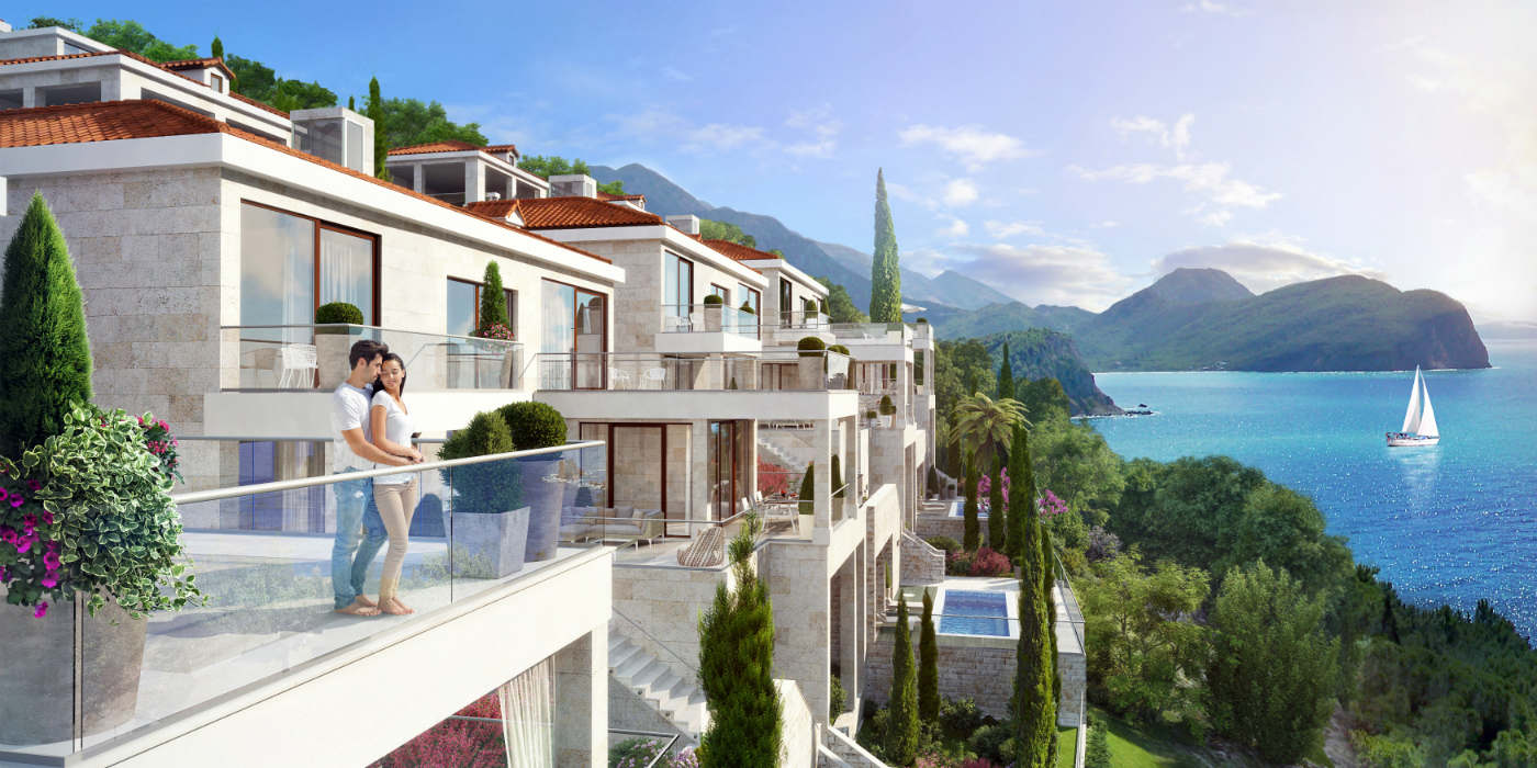 Budva – Rezevici – Villa complex – Villas for sale