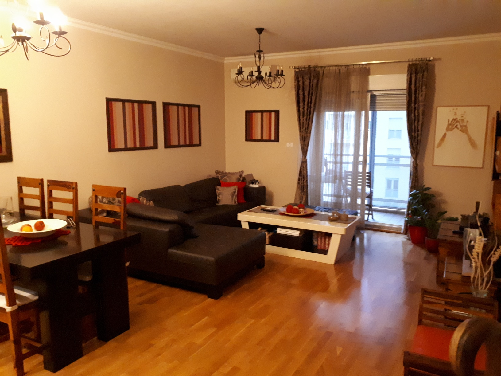 Flat for sale 112m2 – three bedrooms – garage – furnished – City quart